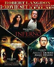 Robert Langdon 3-Movies (Da Vinci Code / Angels & Demons / Inferno) [Dvd] New!