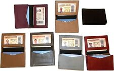 Leather Business card / Credit Card ID card case fifty cards holder New Lot of 7