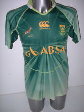South Africa Canterbury Medium Sevens 7's Rugby Union Shirt Jersey Springboks
