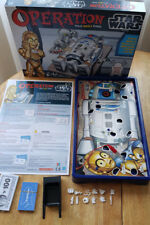 Hasbro Operation Star Wars R2D2 Robot Kids Board Game #36550 _USED_