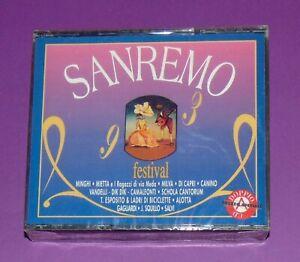 SANREMO 93 FESTIVAL. BOX 2 CD 1^ EDIZIONE SANREMO 1993 SIGILLATO ! MILVA