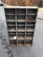 Industrial Furniture Pigeon Hole Storage Cabinet Shelving Unit