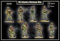 MARS 32006 1/32 VIETNAM WAR US ARMY 15 Unpainted Plastic Toy Soldiers FREE SHIP