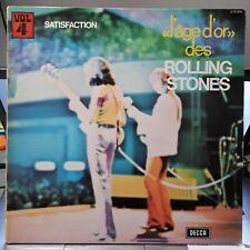 LP - L'Age D'or Des Rolling Stones Vol. 4 Satisfaction 1965 FR 278016 - VG++/EX