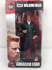 "New! The Walking Dead TV Series Abraham Ford 7"" Figure with RPG & Stand"