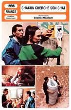 FICHE CINEMA : CHACUN CHERCHE SON CHAT - C.Klapisch 1996 When the Cat's Away