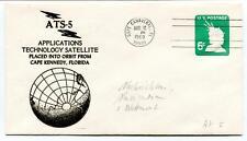 1969 ATS-5 Applications Technology Satellite Orbit Cape Kennedy Florida Canavera