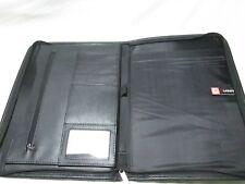 New Listing Leeds Zippered Portfolio Organizer Binder Card Folder Pockets Forte Freeship