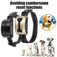 Anti Choque sem casca Cachorro Trainer parar de latir Pet colarinho Controle formação Adjustab