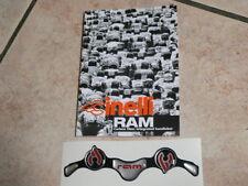 1 resin sticker for handlebar CINELLI RAM racing bikes NEW !!!