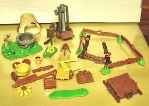 Vintage Smurfs- Village Playset Pieces & Parts-Ex/Nm