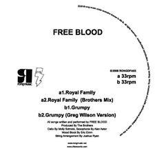 Free Blood - Royal Family [New Vinyl]