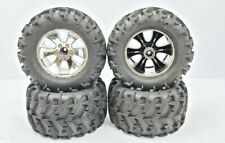 Redcat Racing Earthquake Wheels and tires - FULL SET - 12MM Monster Truck Wheels