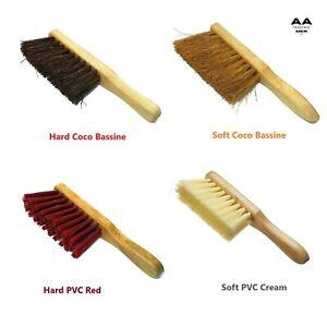 Soft/Hard PVC Coco Bassine Hand Brush Sweeper Brushing Any Floor Garden
