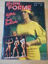 PLEINE FORME #48 female bodybuilding muscle magazine 3-82 (Fr)