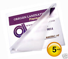 5 Mil Hot Mini Menu Laminating Pouches 11-1/4 x 17-1/4 [50] for 11x17 sheets