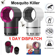 Electric Mosquito Killer Lamp Fly Bug Zapper UV Home Indoor Pest Catcher Trap