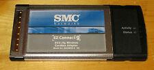 Pcmcia Wireless Wi-Fi 802.11G Smc Card *New* 98Se/2000/Xp/7