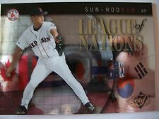 2002 LEAF LEAGUE OF NATIONS SUN WOO KIM LN 8 !! BOX 4