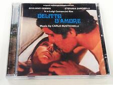 CARLO RUSTICHELLI DELITTO D'AMORE CD