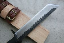Hand-Made Damascus Knife with Wood Sheath 55-58HRC !!!NEW ITEM!!!
