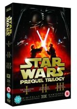 Star Wars Prequel 1-3 Complete I II III Movie 3 Film Collection DVD Box Set New