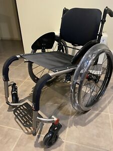 TiLite ZRA Wheelchair + ADI Carbon Backrest  (New never Used) With Full Options