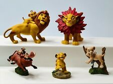 Lot of 5 Very Nice The Lion King Christmas Ornaments From Hallmark & Disney