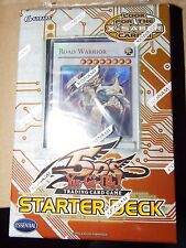 YuGioh 2009 5D's English Starter Deck  w/ Road Warrior New Sealed 1st edition