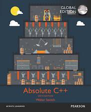 Absolute C++ 6e by Walter J. Savitch, Kenrick Mock 6th