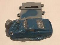 Vintage Ideal Motorific Slot Car Track Section Crashed Car 1968 Part CM 9374