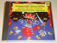 Tschaikowsky Ballet Suites Levine W.P. Tchaikovsky DGG West Germany full silver
