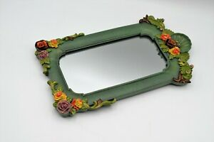 MICHAL NEGRIN Israel Table display / Wall Hanging Mirror, Floral design, New