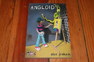 Angloid (Cosmic Being Comics Collected Story) Alex Graham Graphic Novel NEW NM+
