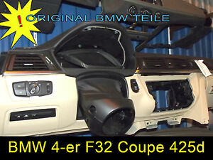 BMW 4-er Coupe 425d  F32 Armaturenbrett mit Headup  BJ 2013