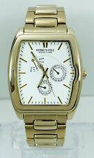Kenneth Cole Men's KC3681 Reaction Gold-Tone Multifunction Bracelet Watch
