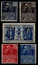 EXPO COLONIALE 1931 Neufs * = Cote 66 € / Lot Timbres France 270 à 274
