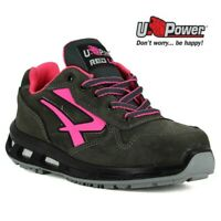 SCARPE ANTINFORTUNISTICA UPOWER RED LION CANDY S3 CI SRC U-Power PELLE DA DONNA