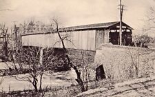 Old Factory Covered Bridge in Williamson Park Lancaster PA OLD