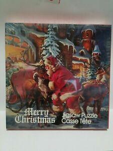 APC Vintage Jigsaw Puzzle MERRY CHRISTMAS 1980 551 Pcs