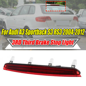 Third 3rd Tailgate High Level Tail Rear Brake Stop Light Lamp For AUDI 2004-12
