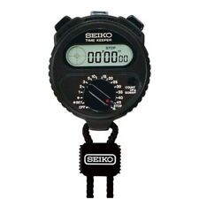 SEIKO TIME KEEPER SSBJ018 Stop Watch For Sports S321 black 4954628544131