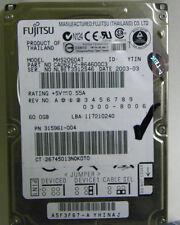 60GB Fujitsu MHS2060AT Laptop IDE Hard Drive P/N CA06272-B64600C3