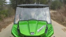 2012-15 Kawasaki Teryx 4 Clear Full Front Windshield-1/4 THICK Polycarbonate!
