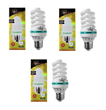3x Energiesparlampe E27 30W Sparlampen Spirale Leuchtmittel Lampe Kaltweiss 6400