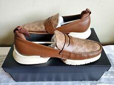 Men's Coach Shoes - CTYSL SIG LFR - G5031 - KHAKI/SADDLE/WHITE TRIM - 11D