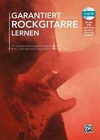 Garantiert Rockgitarre lernen - mit CD - für E-Gitarre in Tabulatur - NEU!