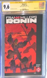 Frank Miller's Ronin #1 CGC SS 9.6 signed by Frank Miller (1983)