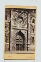 31833CDV Foto V. Christian König Nurenberg Um 1870-1880 Portal St Lorenz