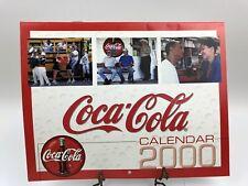Vintage 1990 Coca Cola 2000 Calendar